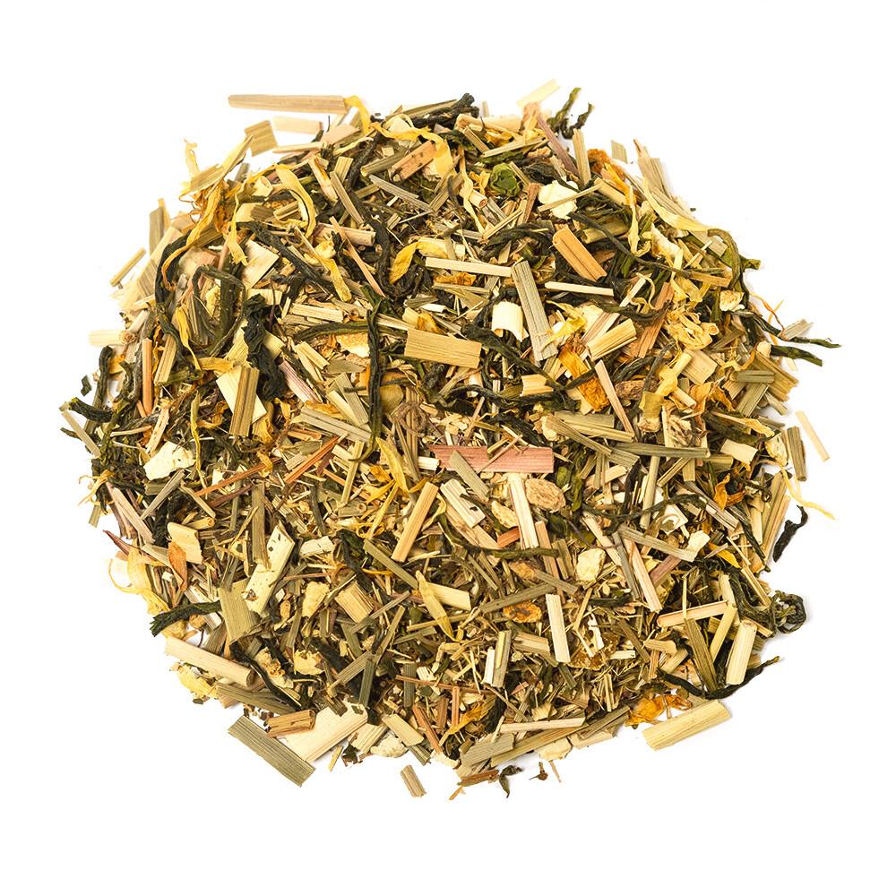 Jordan Tomb's Organic Green Tea Blend - Lemon Ginseng