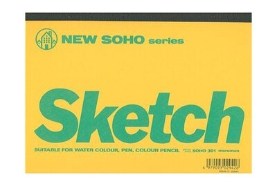 Maruman New SOHO Series Sketch Book [B6]