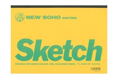 Maruman New SOHO Series Sketch Book [B5]