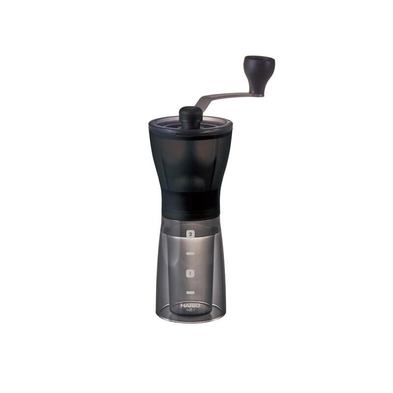 Hario Ceramic Coffee Mill Mini Slim Plus