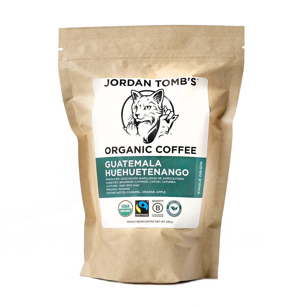 Jordan Tomb's Organic Coffee - Guatemala Huehuetenango - Fairtrade