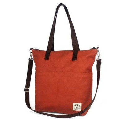 Lady Alamo Aria Reversible Messenger Bag, Sienna