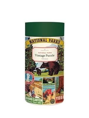 Cavallini & Co. National Parks 1000 Piece Puzzle