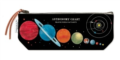 Cavallini Astronomy Chart Pencil Pouch