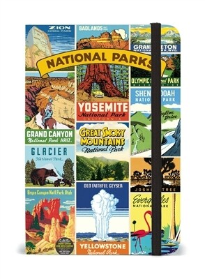 Cavallini National Parks Small Notebook