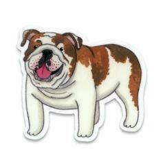 Cactus Club English Bulldog Sticker