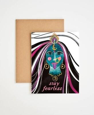 Meera Lee Patel Kali Stay Fearless Card