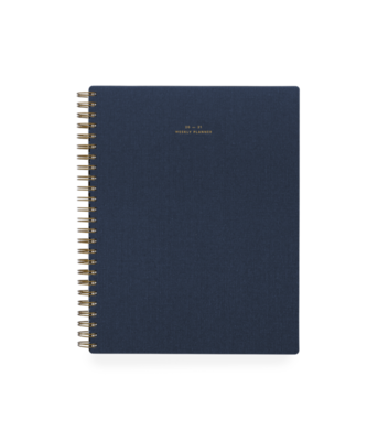 Appointed Weekly Planner, Oxford Blue 2020-2021
