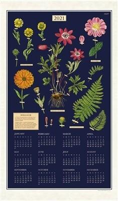 Cavallini 2021 Calendar Tea Towel