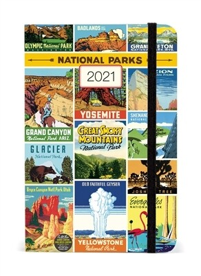 Cavallini National Parks Weekly Planner 2021