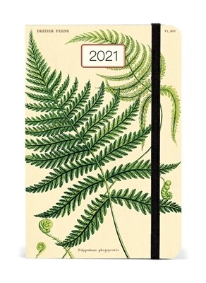 Cavallini Ferns Weekly Planner 2021