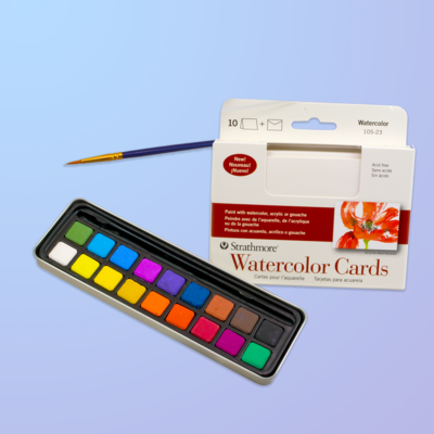 Watercolor Cardmaking Kit
