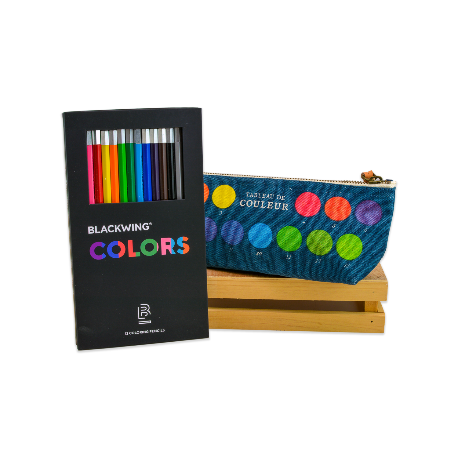Blackwing Colors Pencils with Zip Pouch