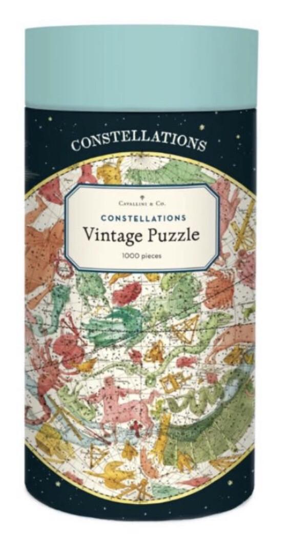Cavallini & Co. Constellations 1000 Piece Puzzle
