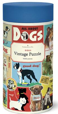 Cavallini Dogs 1,000 pc Puzzle