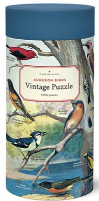Cavallini Audubon Birds 1,000 pc Puzzle