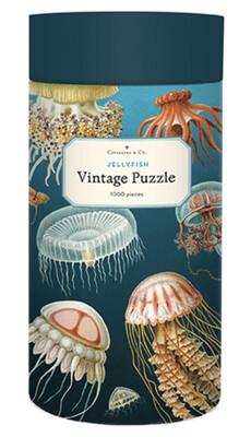 Cavallini Jellyfish 1,000 pc Puzzle