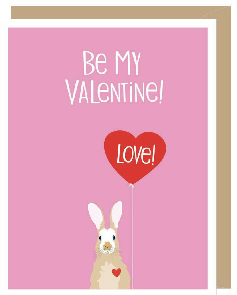 Apartment 2 Valentine Bunny Card