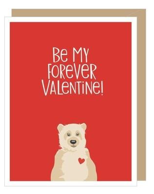 Apartment 2 Valentine Bear Card