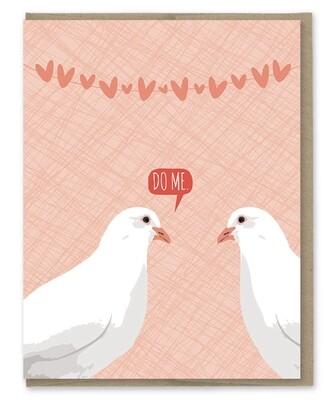 Modern Printed Matter Do Me Doves
