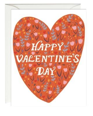 Paula & Waffle Happy Heart Card