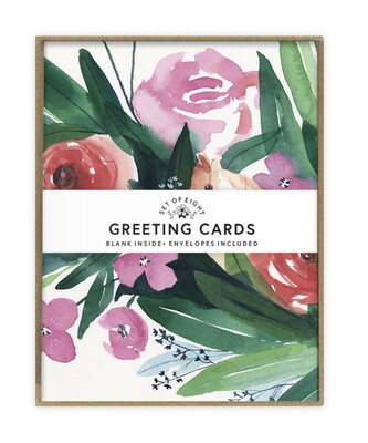 May We Fly Spring Bouquet Boxed Notecards