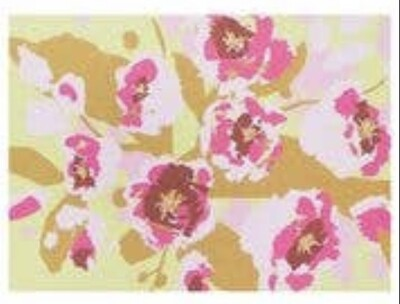 Smudge Ink Cherry Blossoms Notecards, set of 10