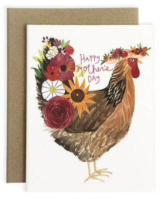 May We Fly Mother Hen Card