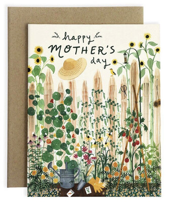 May We Fly Mother's Garden Card