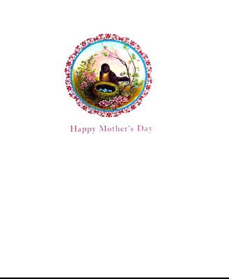 Lumia Designs Bird Nest Mother's Day Card