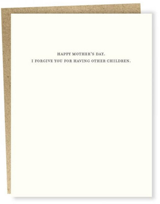Sapling Press I Forgive You Mother's Day Card