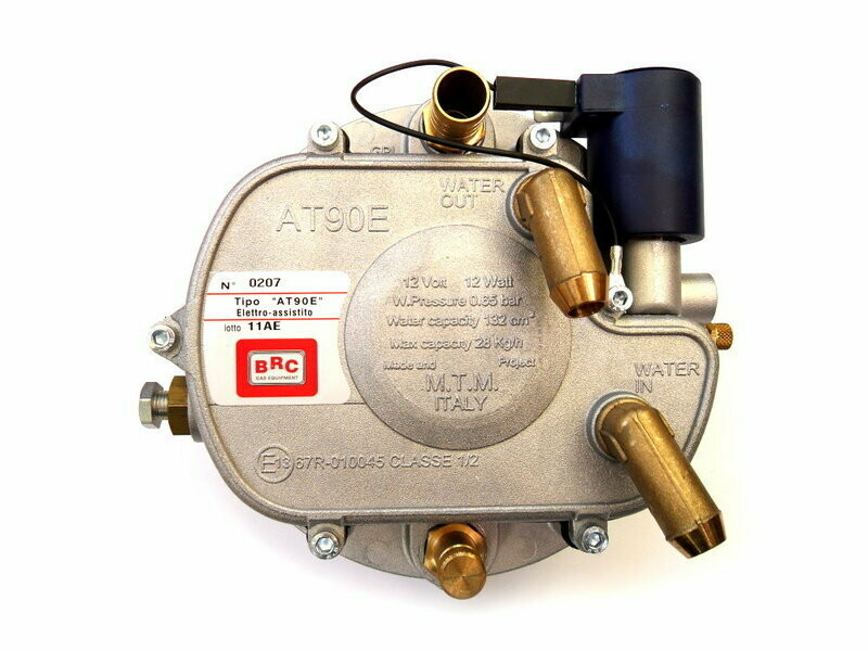 Газовый редуктор BRC AT-90 E Super электронный 140 kW