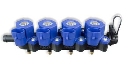 Инжекторная рейка OMVL GEMINI 4 цил.