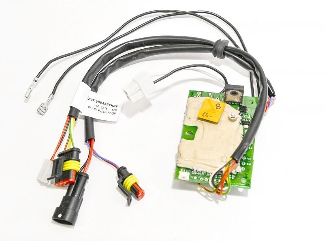 Блок управления для подогревателя Планар 44 GP 12В сб. 2518