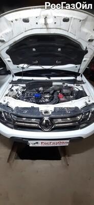 Установка ГБО на Renault Duster