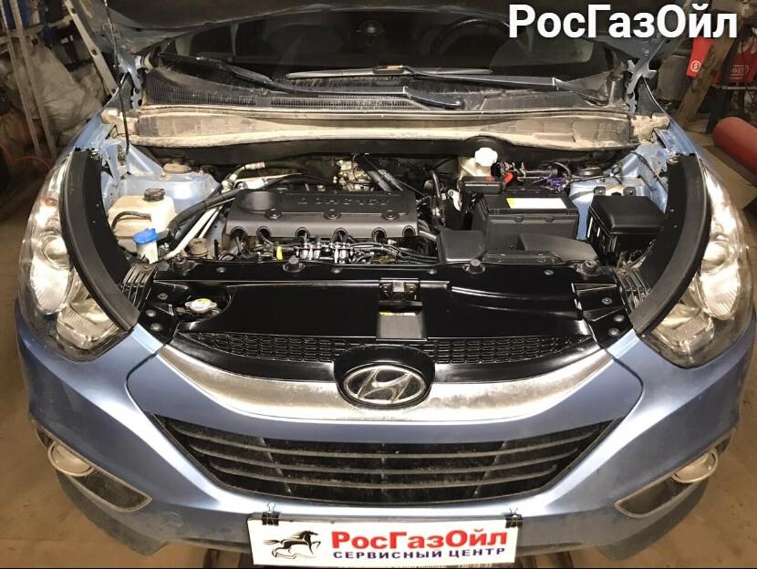 Установка ГБО на Hyundai ix35