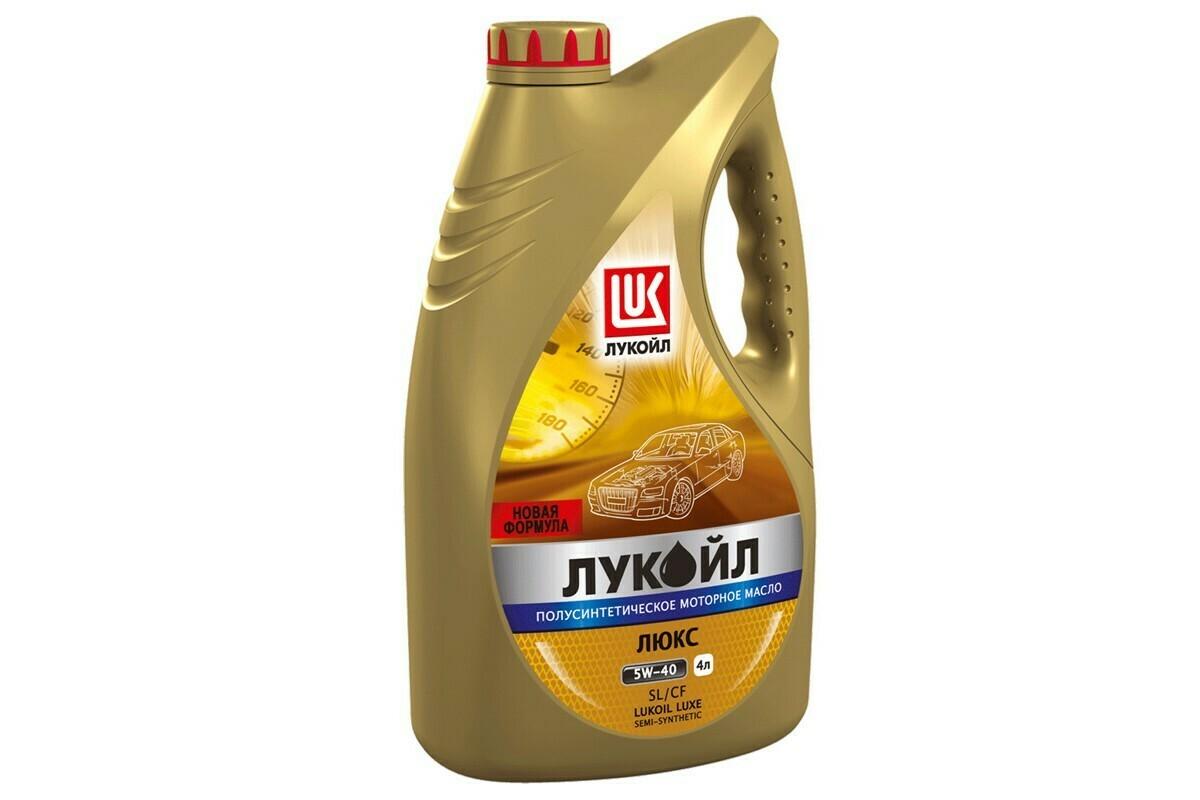 Моторное масло Лукойл Люкс 5W-40 SL/CF 4л