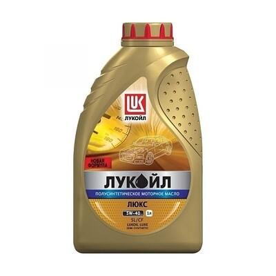Моторное масло Лукойл Люкс 5W-40 SL/CF 1л