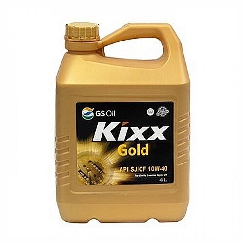 Моторное масло Kixx Gold SJ 10W-40 (G SJ/CF 10W-40) 4л