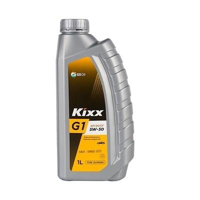 Моторное масло Kixx G1 SN/CF 5W-50 1л