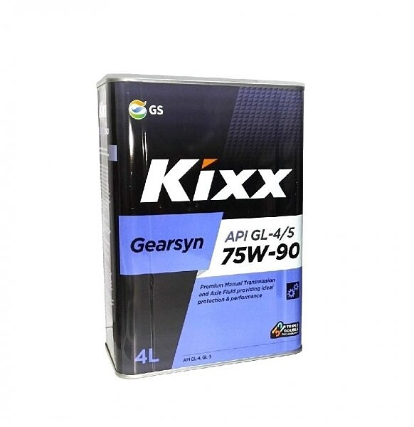Масло трансмиссионное Kixx Gearsyn GL-4/5 75W-90 4л