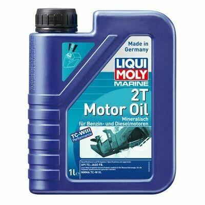 Мин. моторн. масло д/вод. техн. LIQUI MOLY Marine 2T Motor Oil 1л