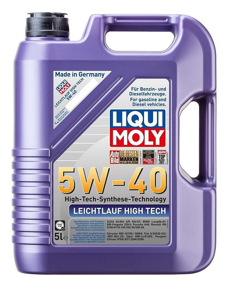 Моторное масло Leichtlauf High Tech 5W-40 5л