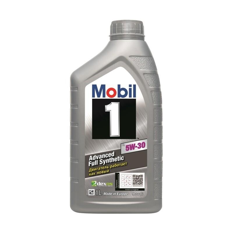 Моторное масло Mobil 1 5W-30 152722 1л