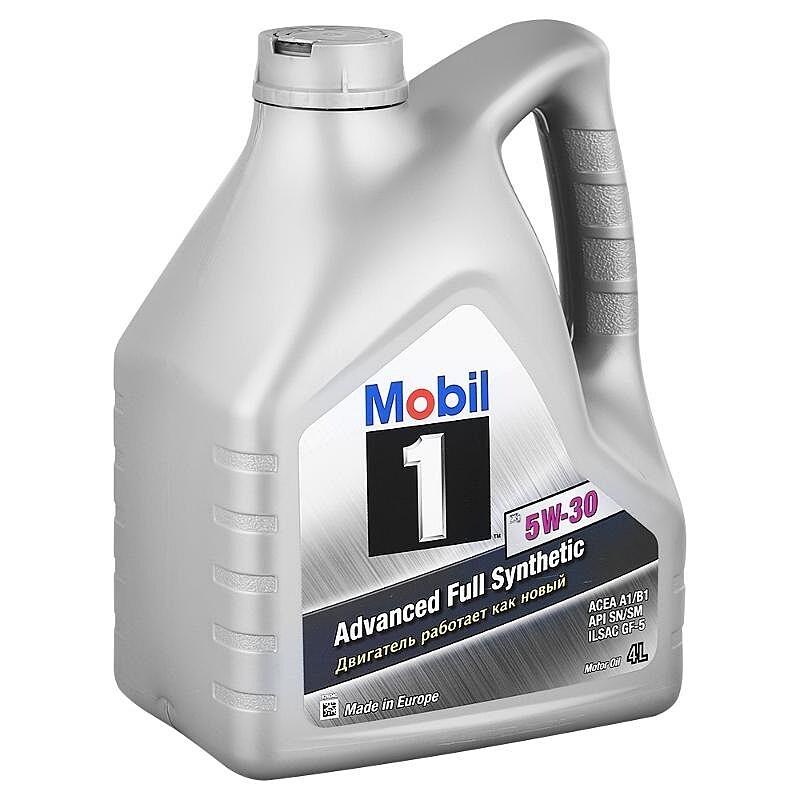 Моторное масло Mobil 1 5W-30 152721 4л