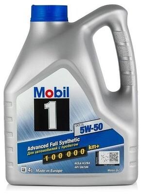 Моторное масло Mobil 1 5W-50 FS X1 153638 4л