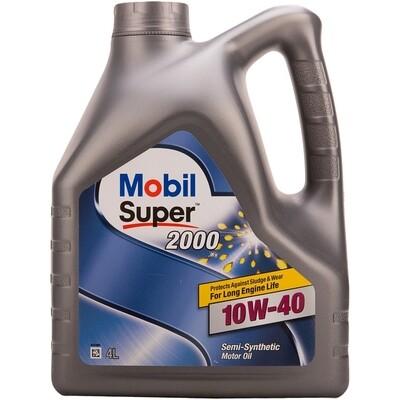 Моторное масло Mobil Super 2000 Х1 10W-40 152568 4л