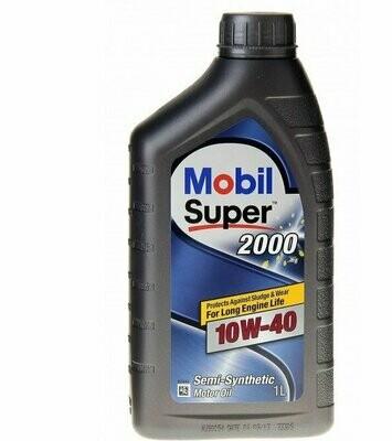 Моторное масло Mobil Super 2000 Х1 10W-40 152569 1л