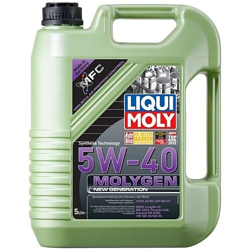 Моторное масло Molygen 5W-40 NEW Generation 5л