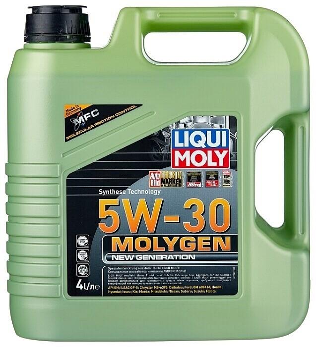 Моторное масло Molygen NEW Generation 5W-30 4л